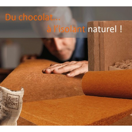 ISOLANT SOUPLE FIBRE NATURELLE - THERMO JUTE 100
