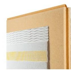 Pavawall gf panneau isolant cr pir fibre de bois - Isolation exterieure ossature bois ...