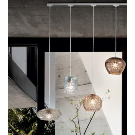 Kolarz Luminaire Luxe Fantasia Metallo Specchio Decorata Rail M Tal