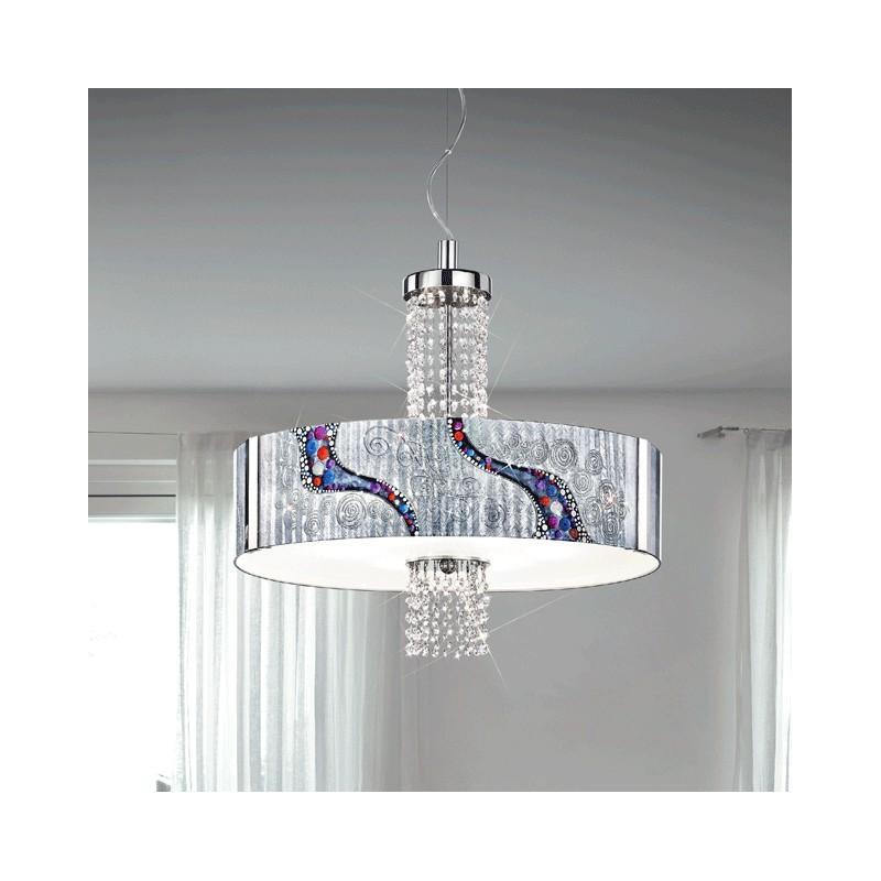 kolarz luminaire luxe suspension emozione peint la main cristal. Black Bedroom Furniture Sets. Home Design Ideas