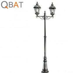 LAMPADAIRE EXTERIEUR DEUX BRAS - WESTMINSTER
