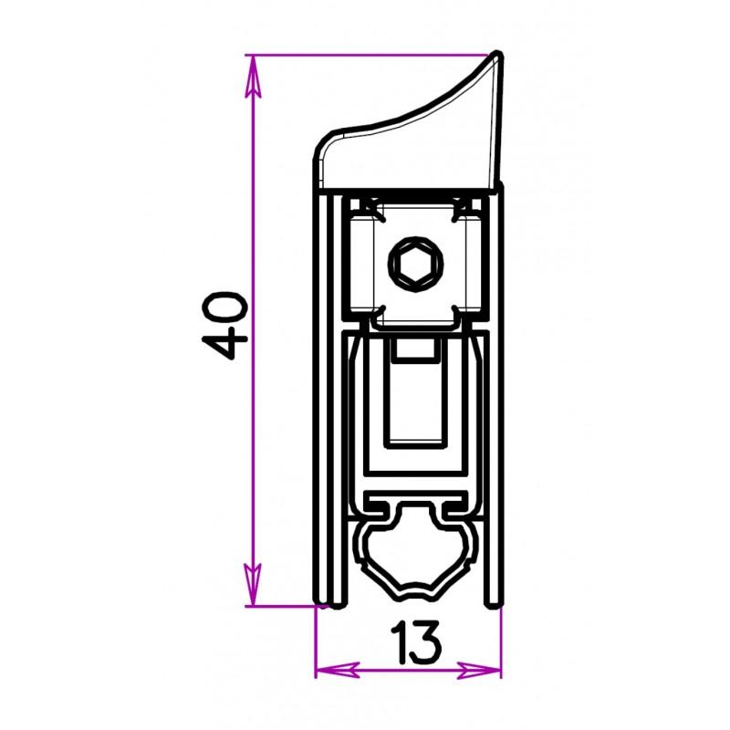 plinthe automatique pour portes ext rieures bas de porte joint tpe. Black Bedroom Furniture Sets. Home Design Ideas