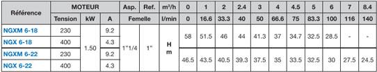 Calpeda NGX pompe à eau 1.5 kW