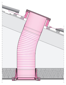 puits de lumière schéma