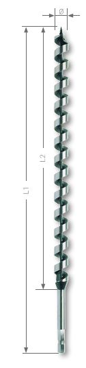 Foret bois spirale unique Ruko