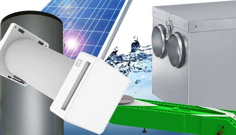 air, eau, énergie, ECS, chauffage, ventilation, climatisation, double-flux, décentralisée