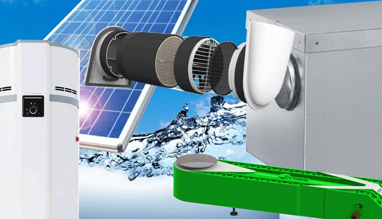 air, eau, énergie, ECS, chauffage, ventilation, climatisation, double-flux, décentralisée, chauffage connecté