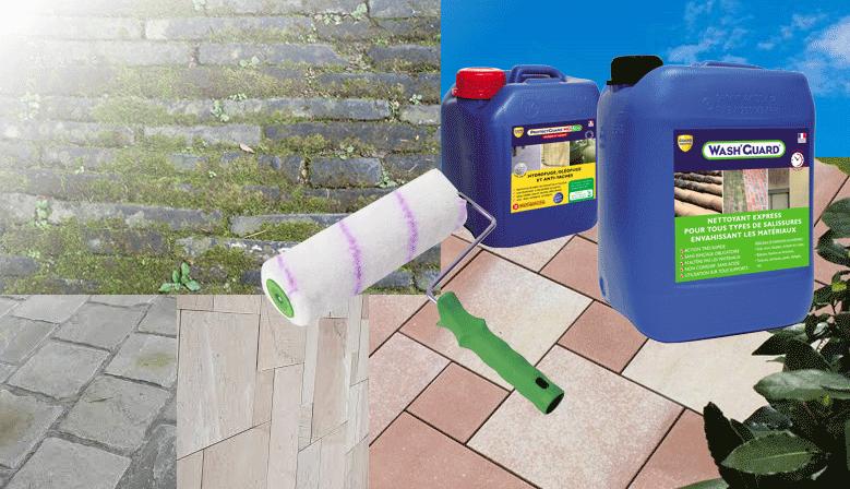 Produits Guard Industrie, Natura, protection et nettoyage sol, mur, pierre, béton